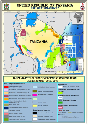 Tanzania Activity Map